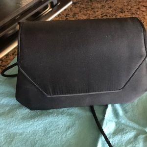 Black Fabric Evening Bag